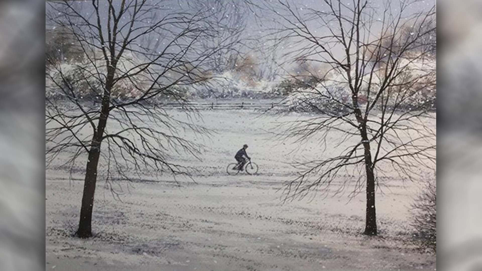 SAA Live – Jeremy Ford Workshop – Winter Snow Scene in Watercolour
