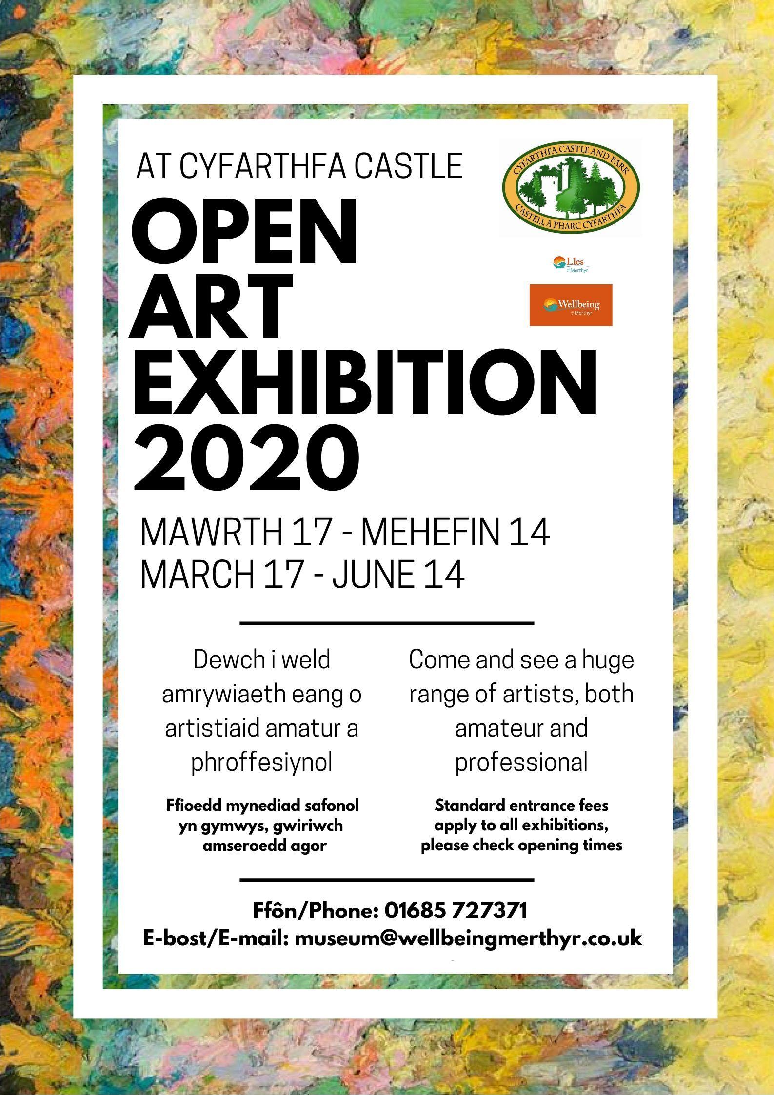 Open Art Exhibition Cyfarthfa Castle (Merthyr Tydfil)