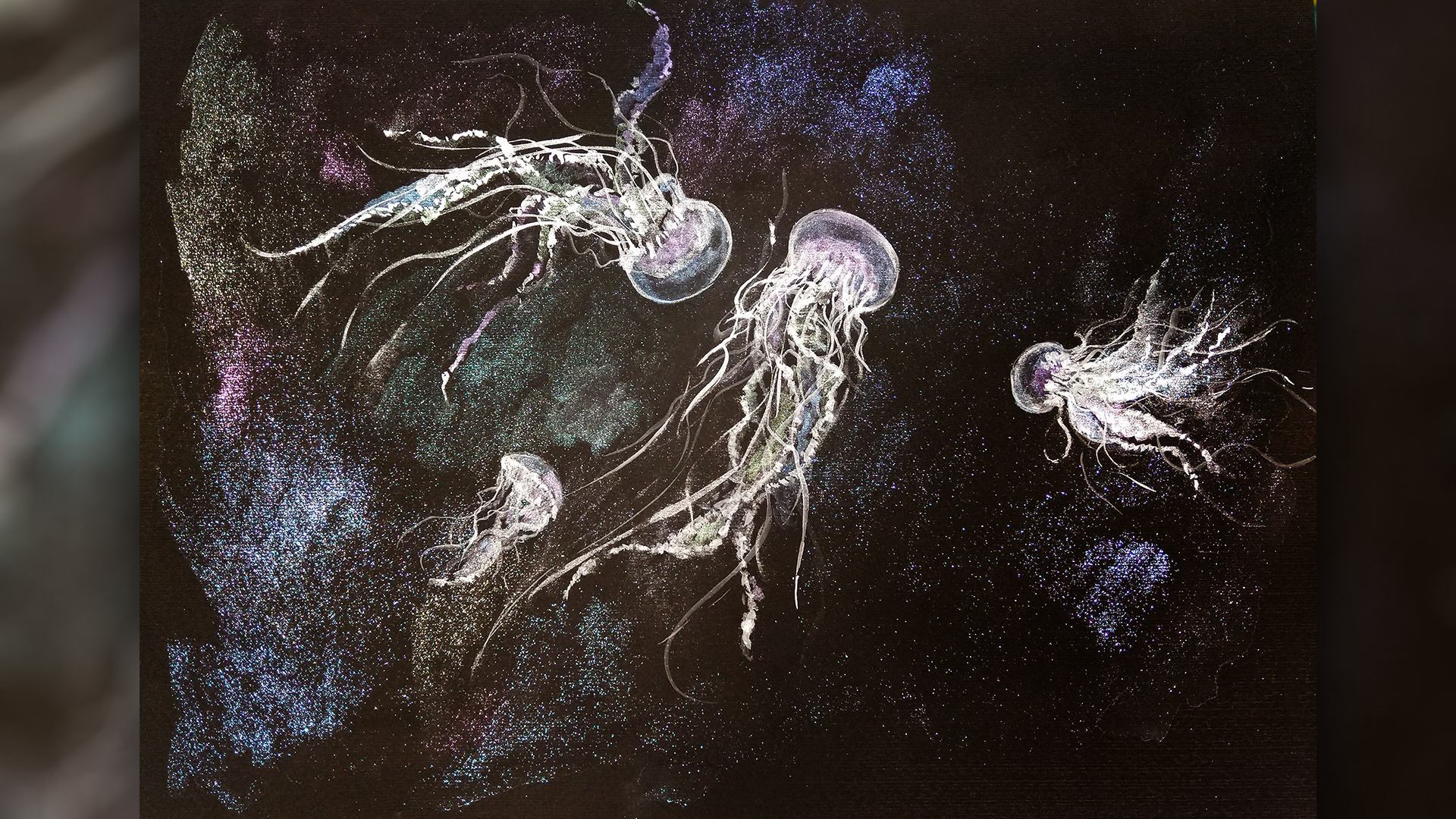 Live with Anita Pounder – Jellyfish using New Rembrandt Set