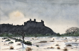 Winter Morning at Harlech