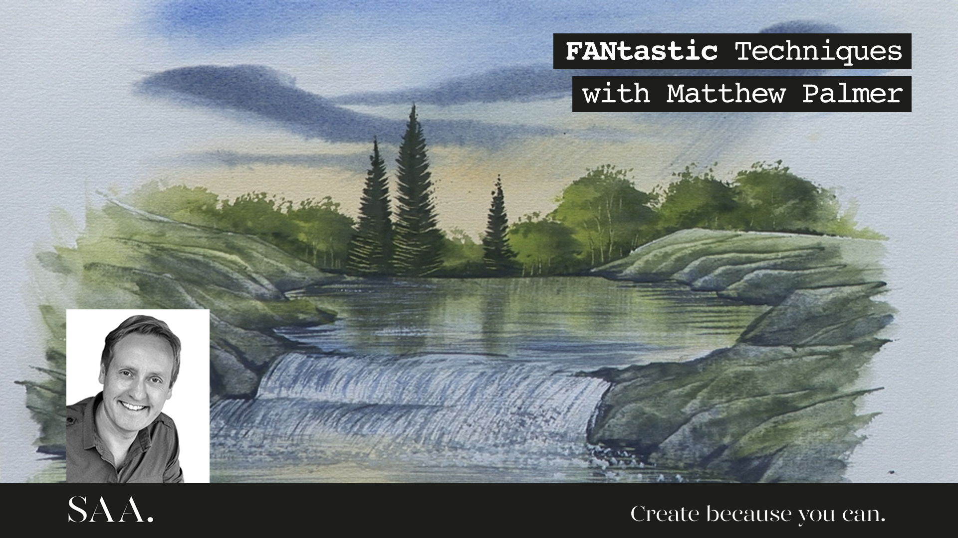 SAA Live – Matthew Palmer – NEW FANtastic Brushes