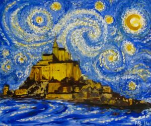 If Van Gogh had visited Mont St Michel