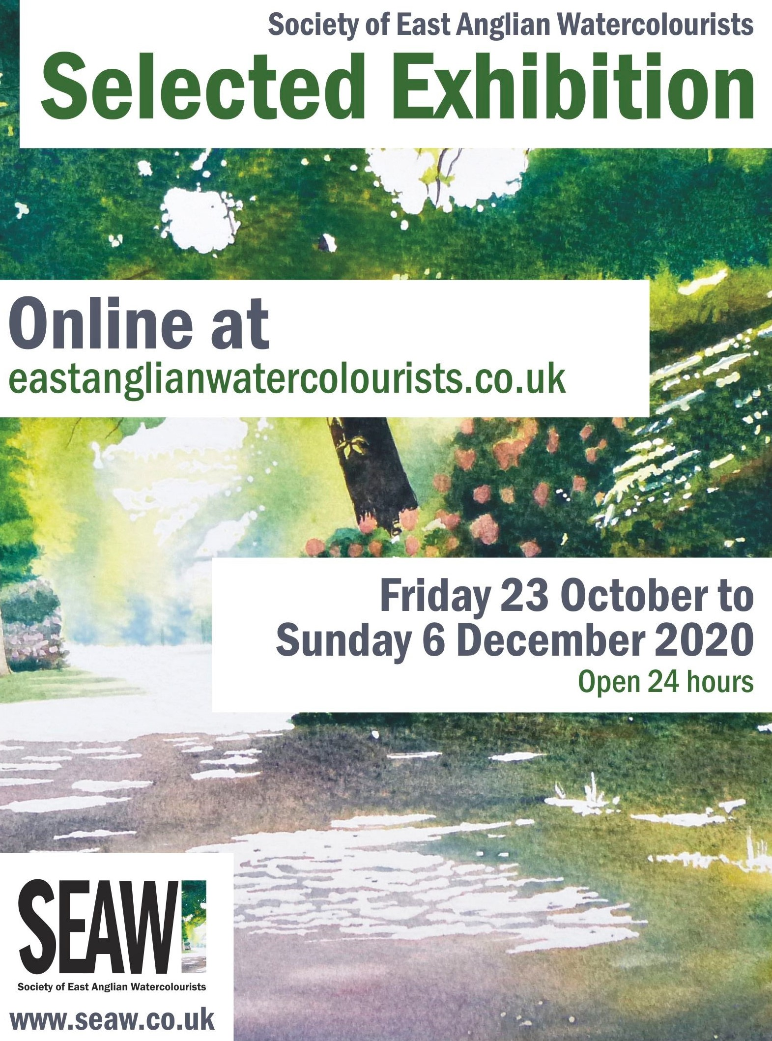 Society of East Anglian Watercolourists Selected Exhibition 2020
