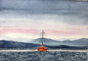 Trawling at Dawn