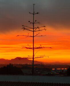 Sunset San Fulgencio Valencia