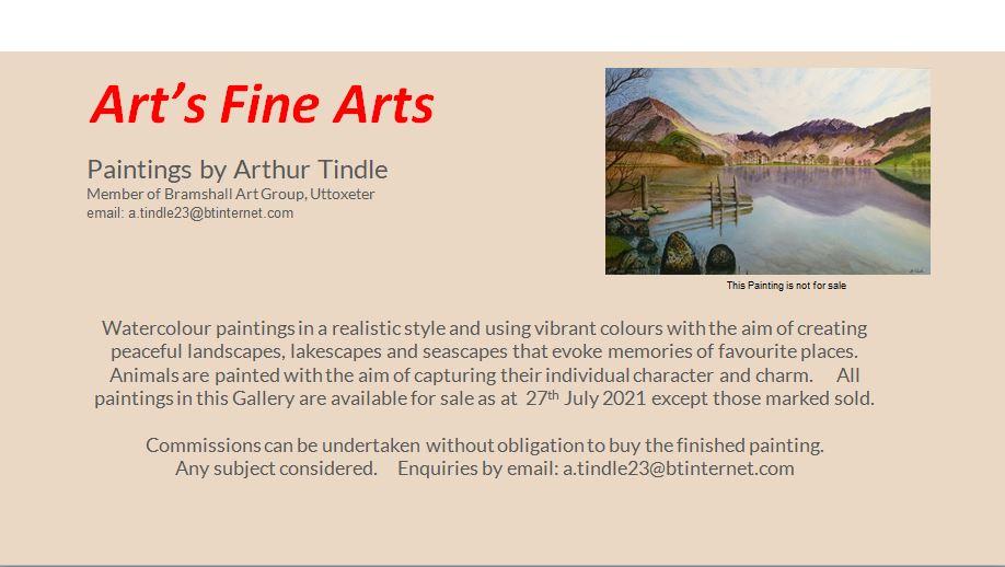 Art's Fine Arts On-Line Exhibition