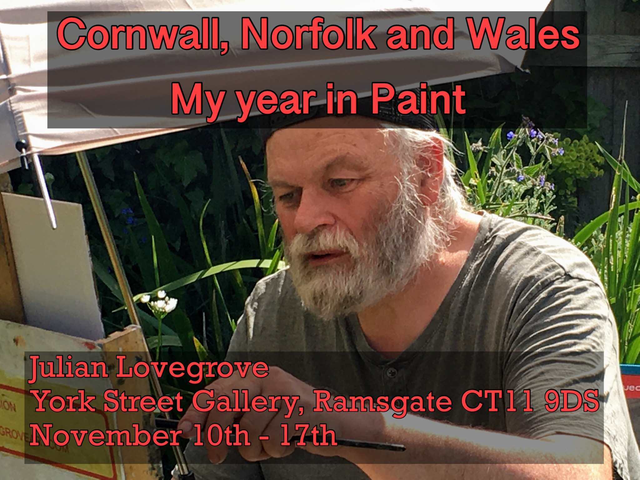 Cornwall, Norfolk and Wales, my year in paint